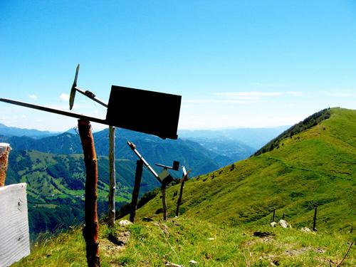 Sloveense bergen; bron Mijn Slovenië