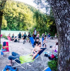 festival ontspanning foto Uros Rojc. archief Soca Outdoor Festival