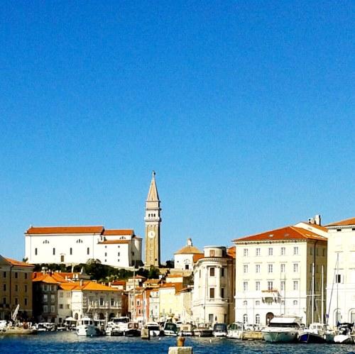 Piran haven aan Adriatische zee. archief Mijn Slovenië