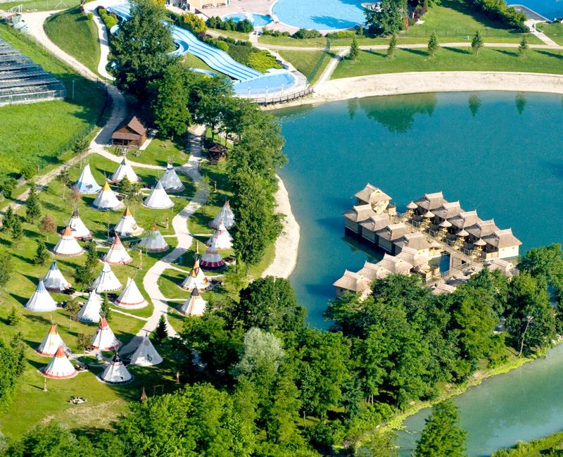 Glamping in Terme Catez spa resort