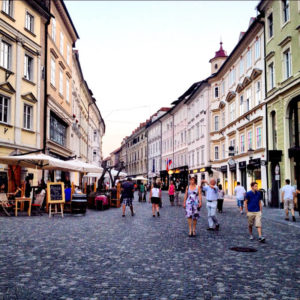oude Ljubljana; foto bron Ana Vugrin