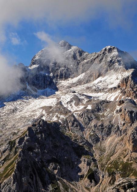 Triglav, Julische Alpen, bron Janez Mencinger, MijnSlovenie