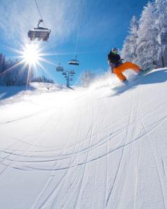 snowboarding, Maribor-Pohorje, ski resort, bron Aljaz Sedovsek, MijnSlovenie