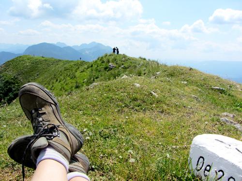 bergwandelen in Slovenië; bron Mijn Slovenië