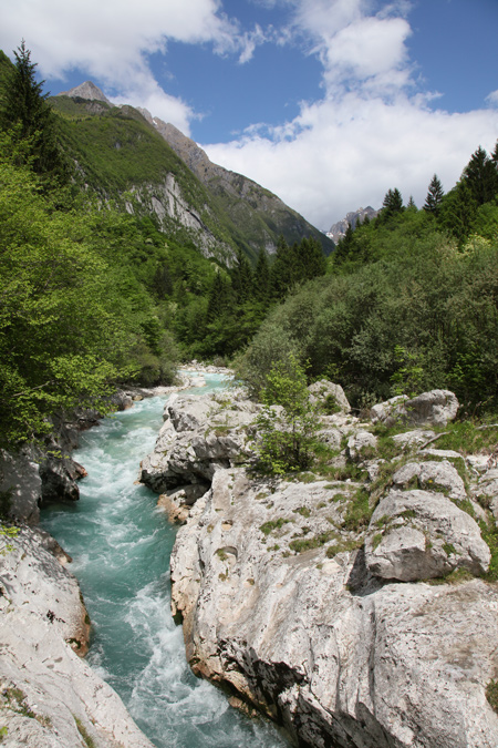 koritnica, pad van de vrede, bron MijnSlovenie