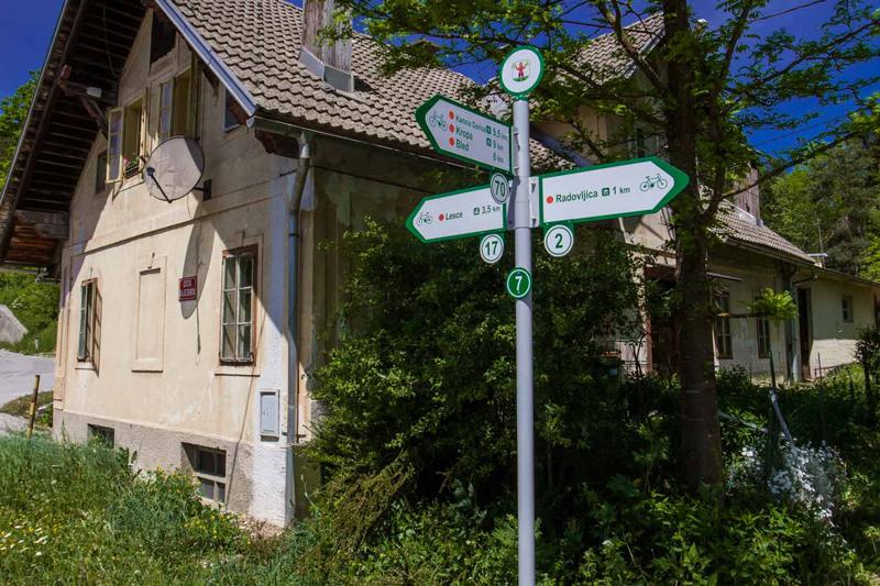 fietsen, radovljica, system, bron MijnSlovenie