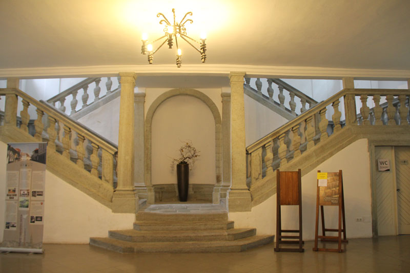 radovljica museum, bron J. vanZoest, Mijnslovenie
