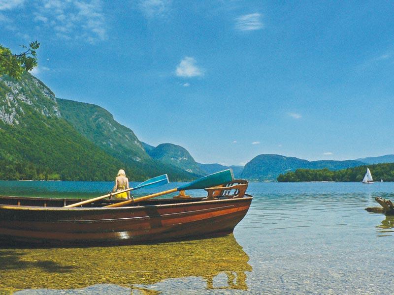 Bohinjsko jezero oaza sonca, foto Mitja Sodja, MijnSlovenie