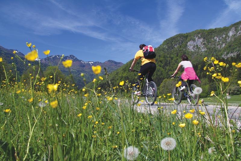 Mitja Sodja, kolesarska pot Bohinj, MijnSlovenie