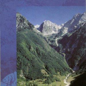 wandelkaart Julische Alpen west