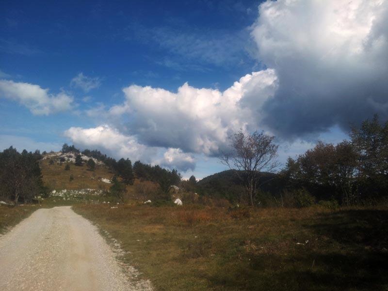 wandelen van ilitska bistrica naar masun, evadinarica, mijnslvoenie
