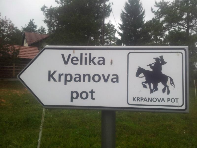 Velika Krpaneva pot, Eva Dinarica