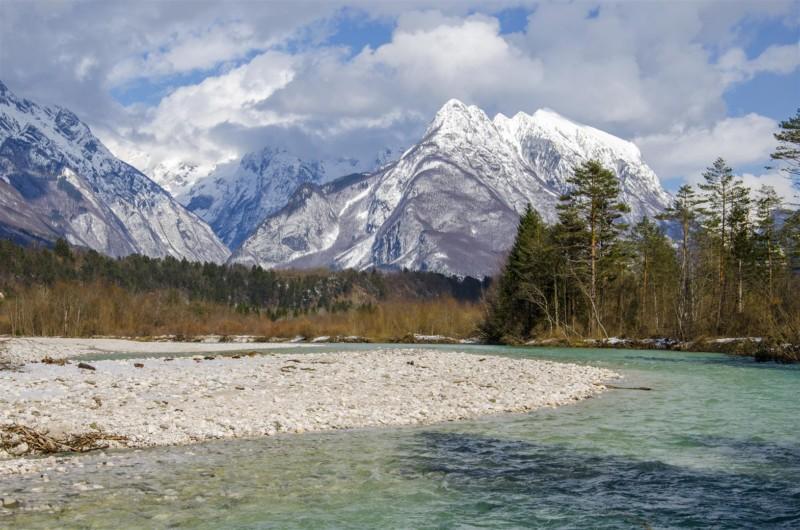 soca rivier, bovec