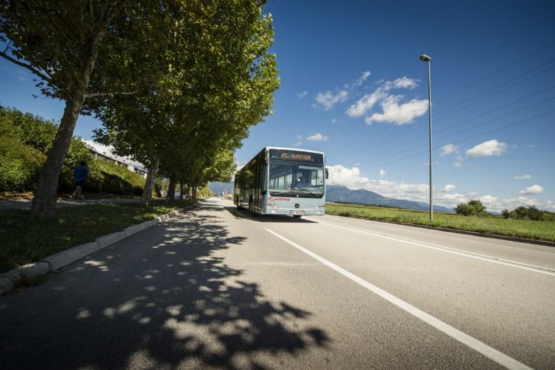 alpetour, bus