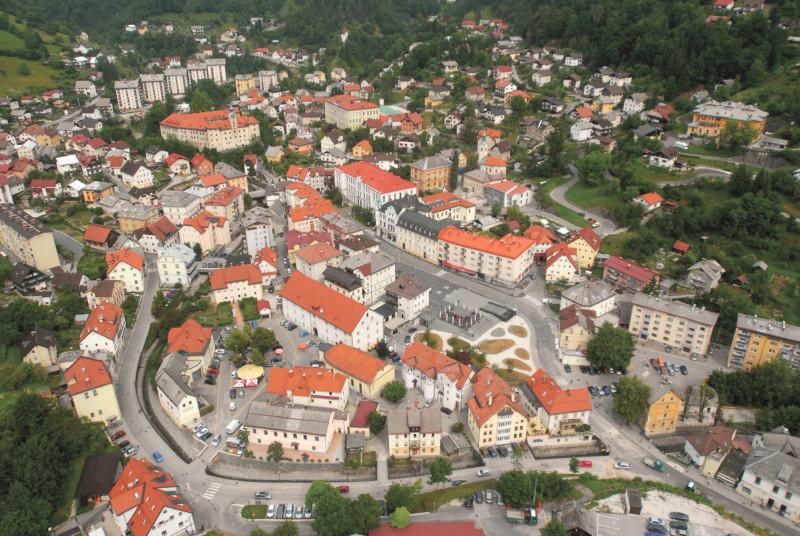 Idrija oude stad