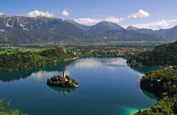 Bled meer Slovenie