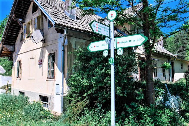 fiestvakantie Slovenie west bij Radovljica stadje