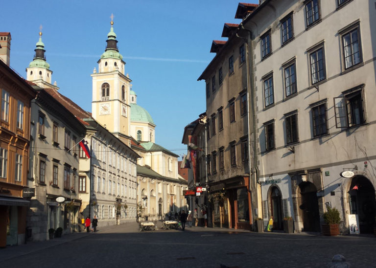 Ljubljana centrum vakantie