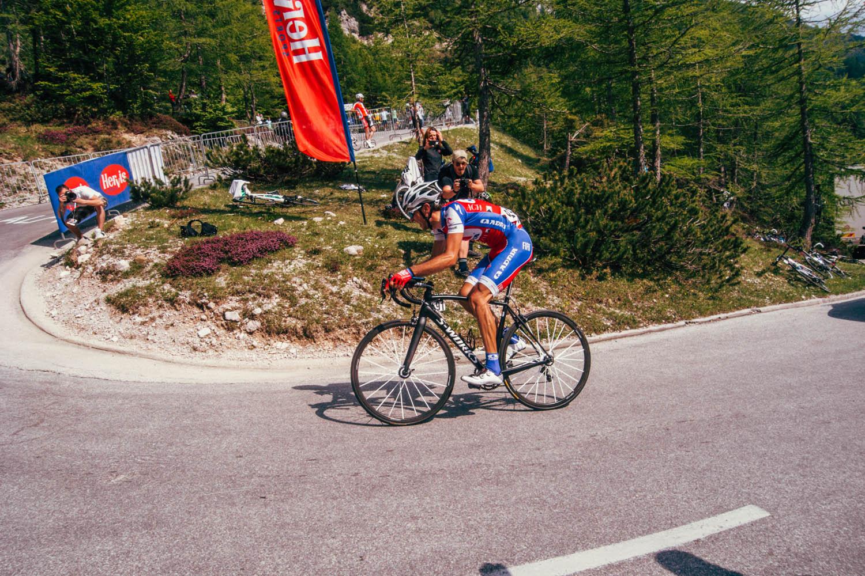 fietsen racefiets Vrsic Mark