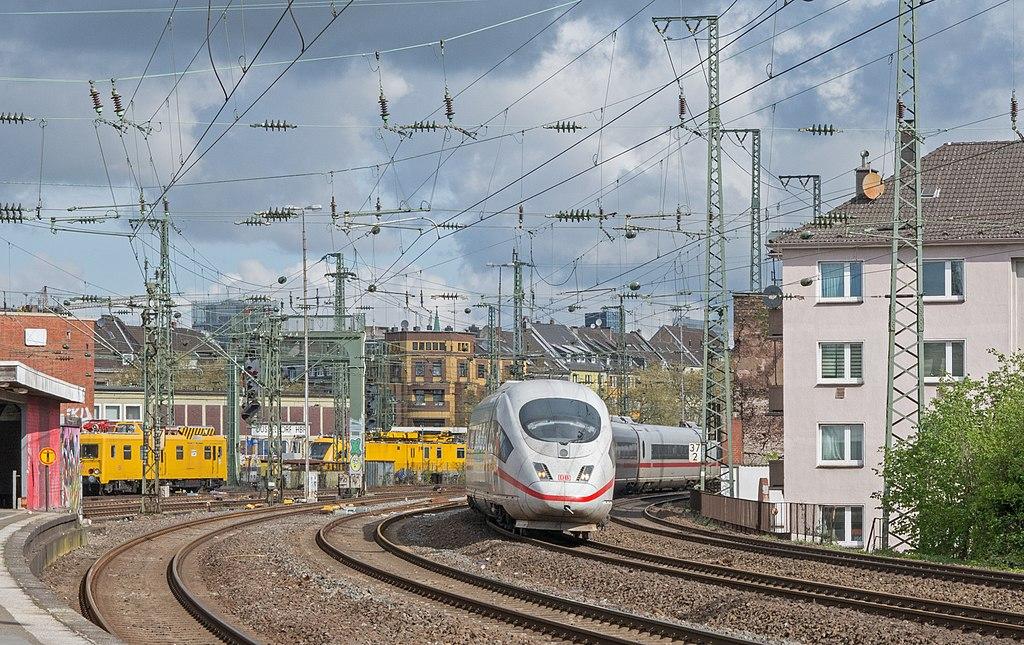 De ICE naar München. Bron Wikimedia Rob Dammers