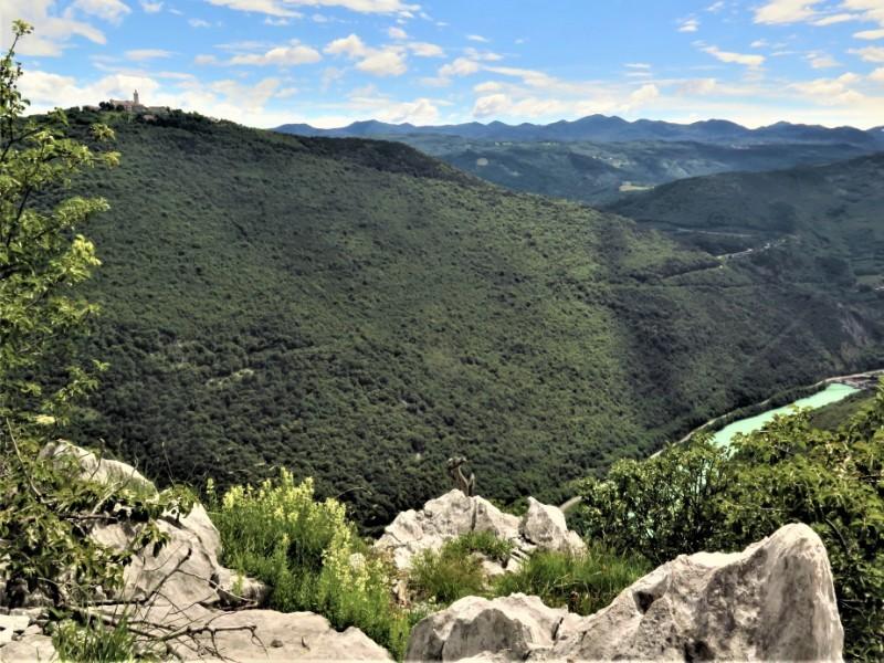 Sabotin Berg Brda Slovenie Soča