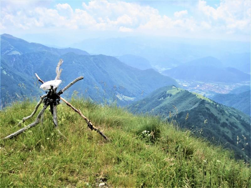 Uitzicht Wandelvakantie Soca Vallei Slovenie