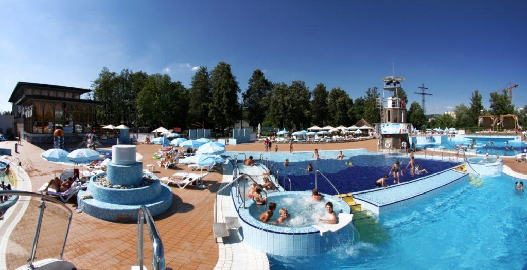 zwemmen Ljubljana zomer vakantie