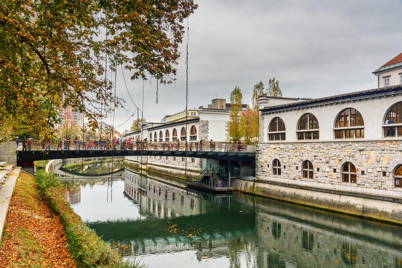 Ljubljana herfst