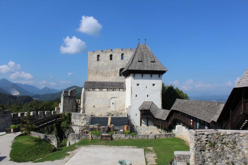 Celje kasteel Slovenie