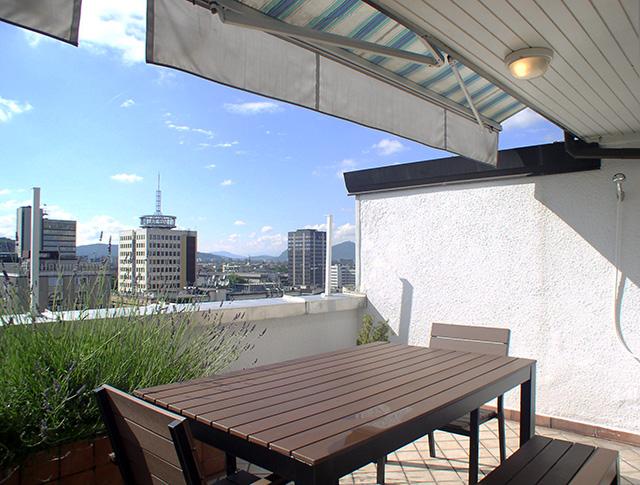 Appartement met terras in Ljubljana