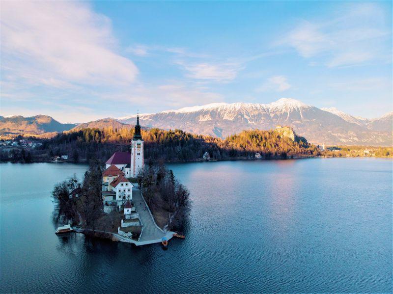 Bled kerstvakantie Slovenië