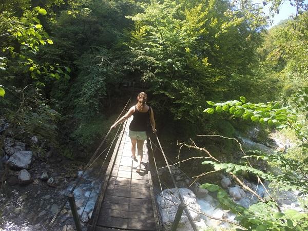 wandelen, soca vallei, solo reis