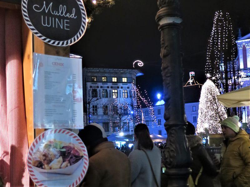 Slovenie kerstmarkt