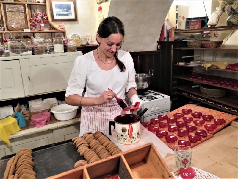 Radovljica Slovenie eten traditioneel