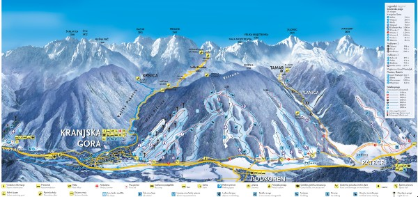 skiresort Julische Alpen Slovenia wintersport