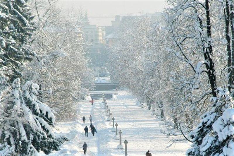 december Ljubljana kerst