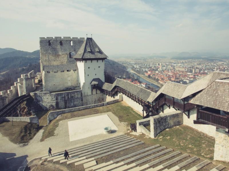 Slovenie kasteel Celje