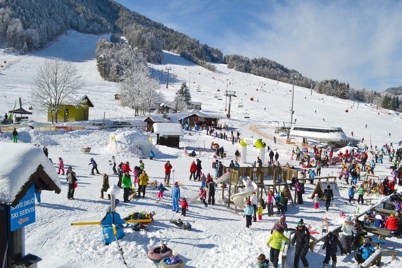 skicentra Slovenie Kranjska Gora Julische Alpen