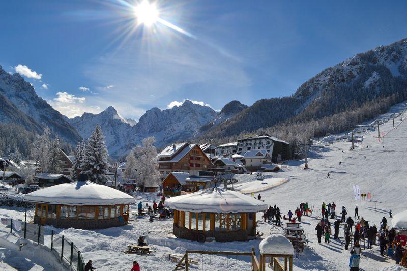 skien in Slovenie