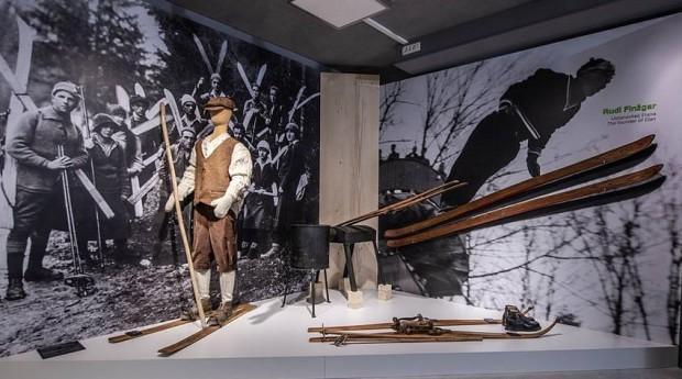 skiën museum wintersport Elan