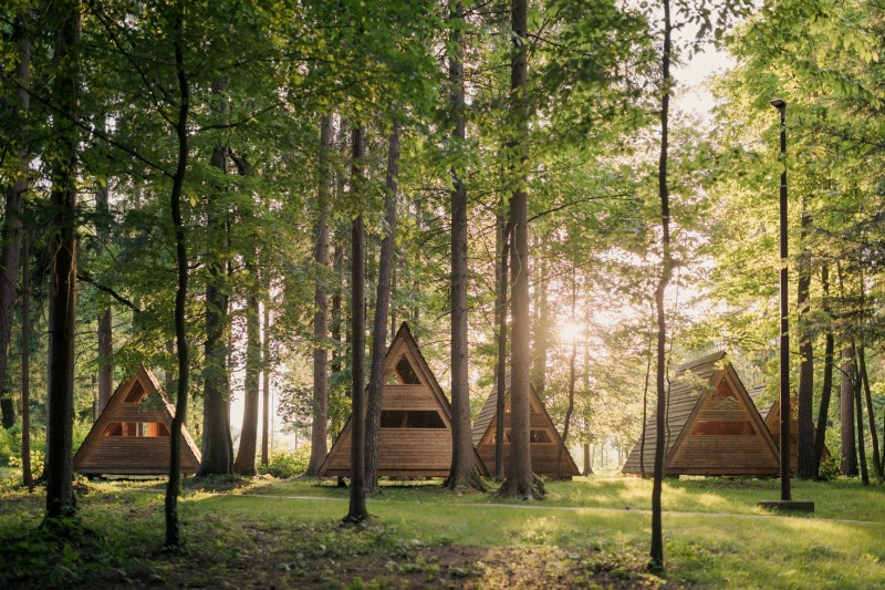 slovenie glamping huisje
