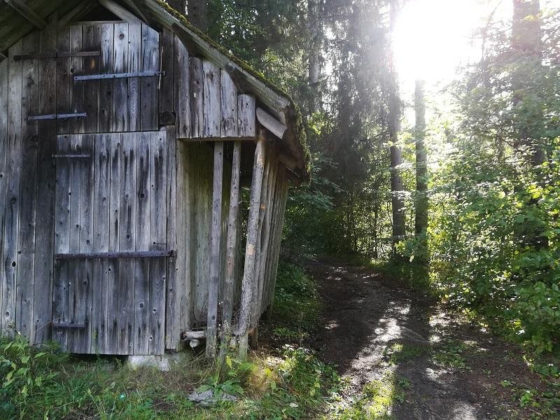 Huttentocht Kranjska Gora - Bos