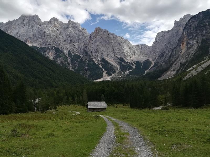 Huttentocht Kranjska Gora - weide