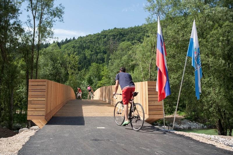 fietsen Bohinj