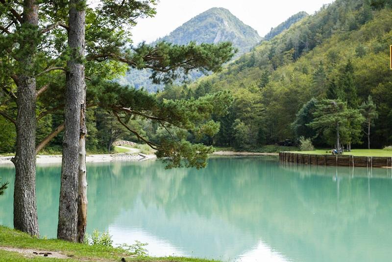 Lake Završnica Karavanken Mark Koghee
