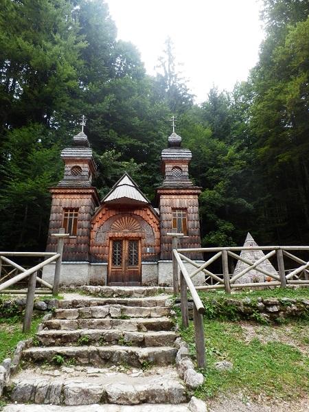 Huttentocht Kranjska Gora - Russische Kapel
