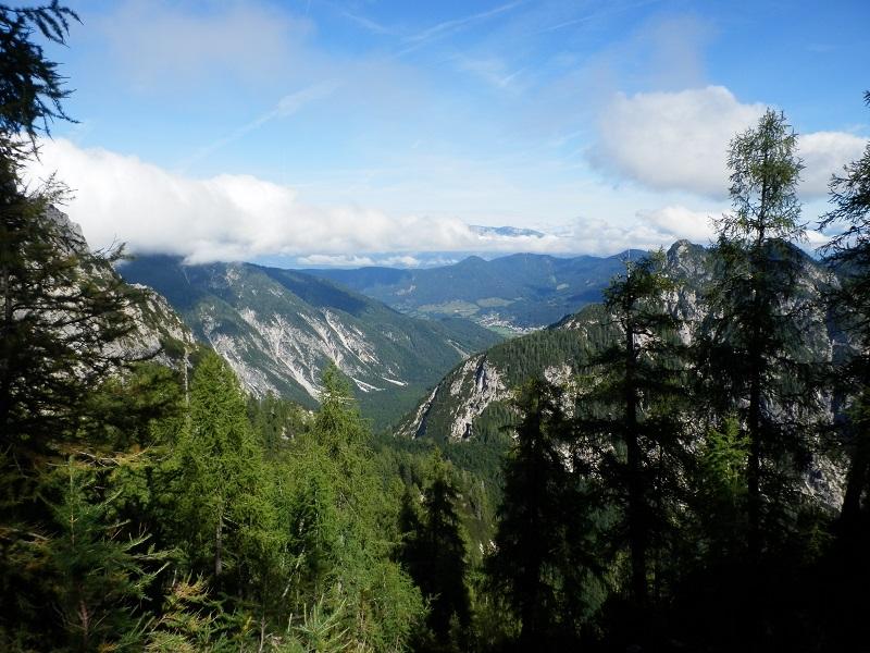 Huttentocht Kranjska Gora - Uitzicht Planica