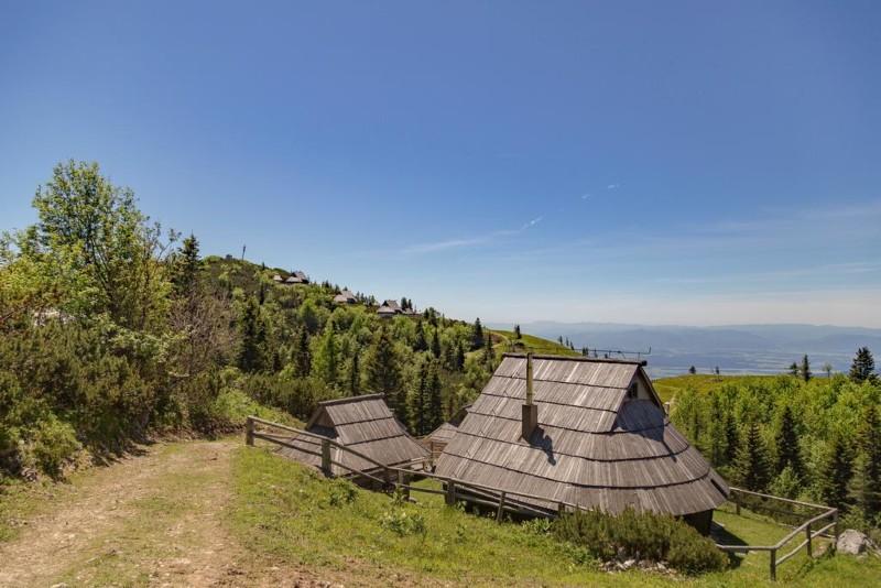 chalet op de berg in Slovenie