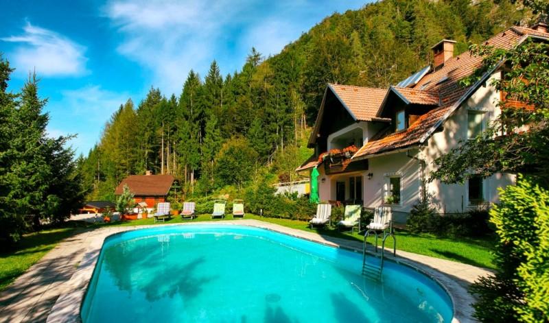 accommodatie met zwembad Julische Alpen