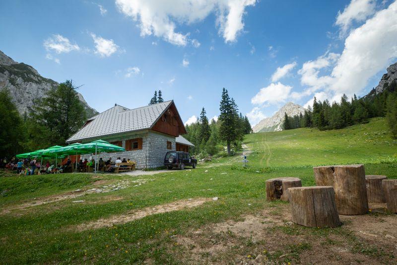 huttentocht Slovenie Karawanke